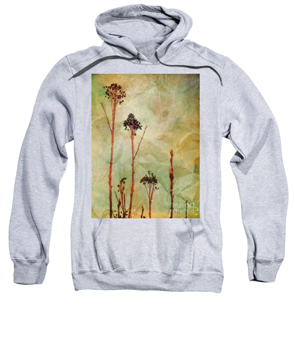 Weeds Sweatshirt featuring the photograph The Simple Things by Tara Turner