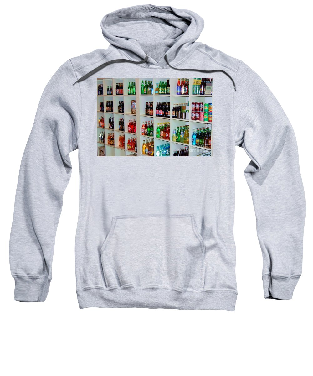 Soda Sweatshirt featuring the photograph The Soda Gallery by Debbi Granruth