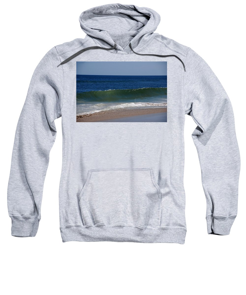 Waves Sweatshirt featuring the photograph The Song Of The Ocean by Susanne Van Hulst
