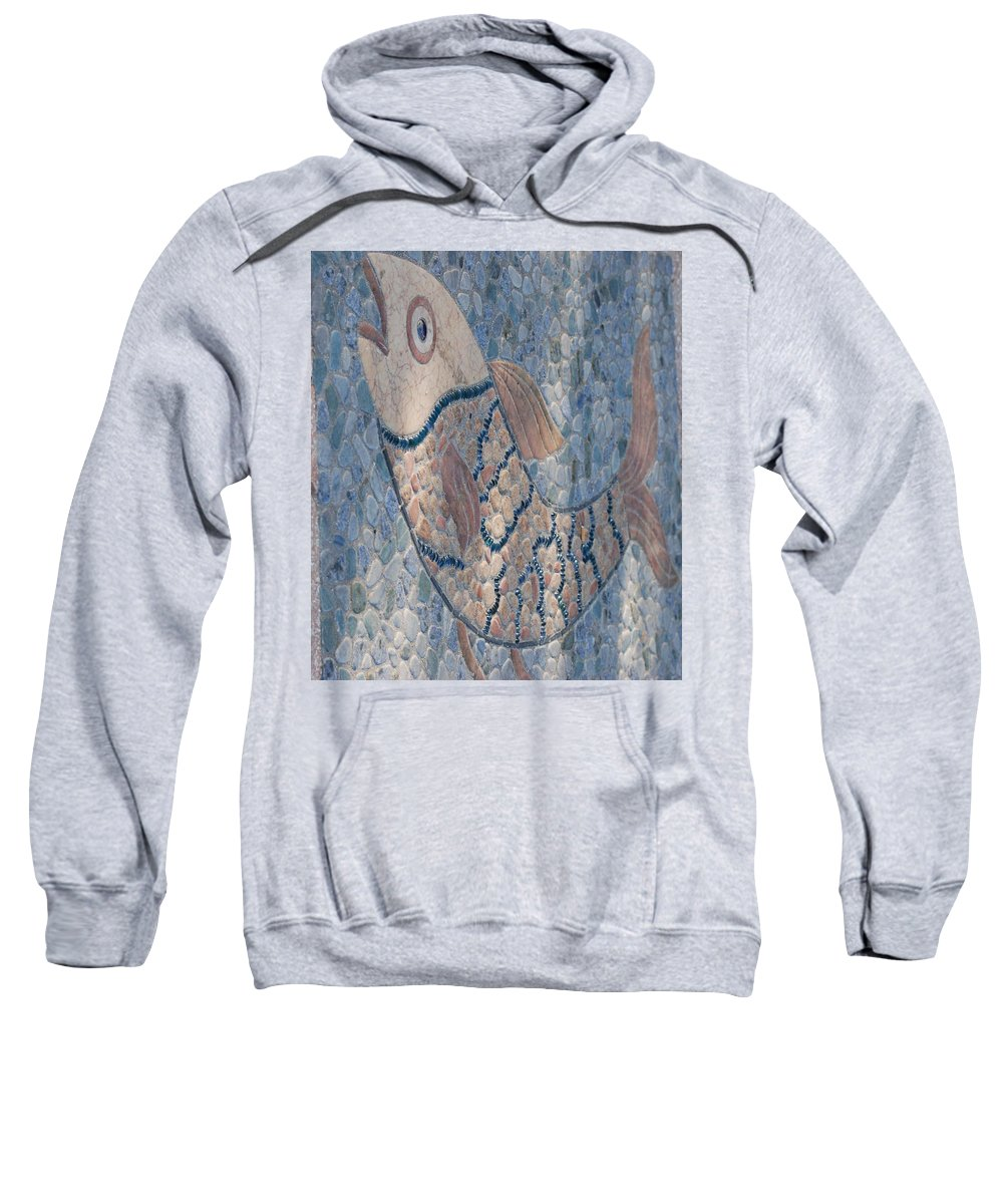 Fish Sweatshirt featuring the photograph The Stone Fish by Rob Hans