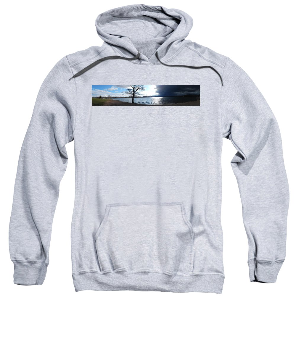 Sweatshirt featuring the photograph The Storm by Shannon Ghanavati