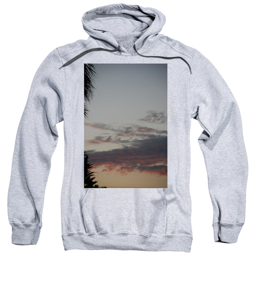 Sunset Sweatshirt featuring the photograph The Sunset by Rob Hans