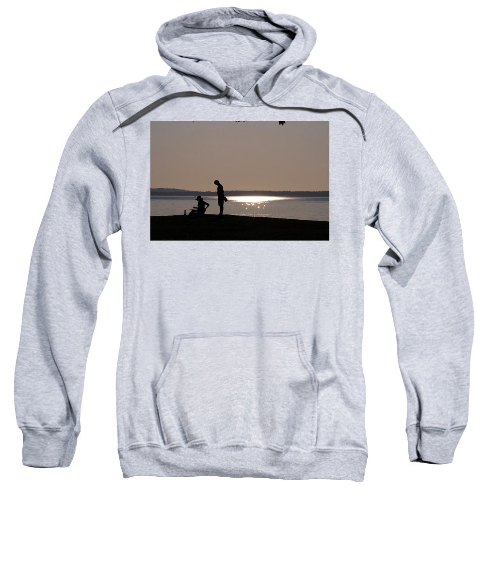 Teach Sweatshirt featuring the photograph The Teacher by Monte Arnold