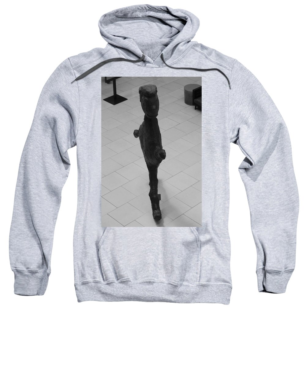 Pop Art Sweatshirt featuring the photograph The Thin Man by Rob Hans
