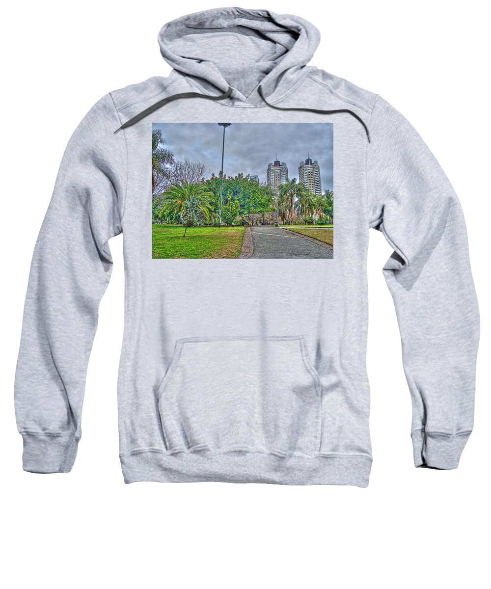 Towers Sweatshirt featuring the photograph The Towers by Francisco Colon