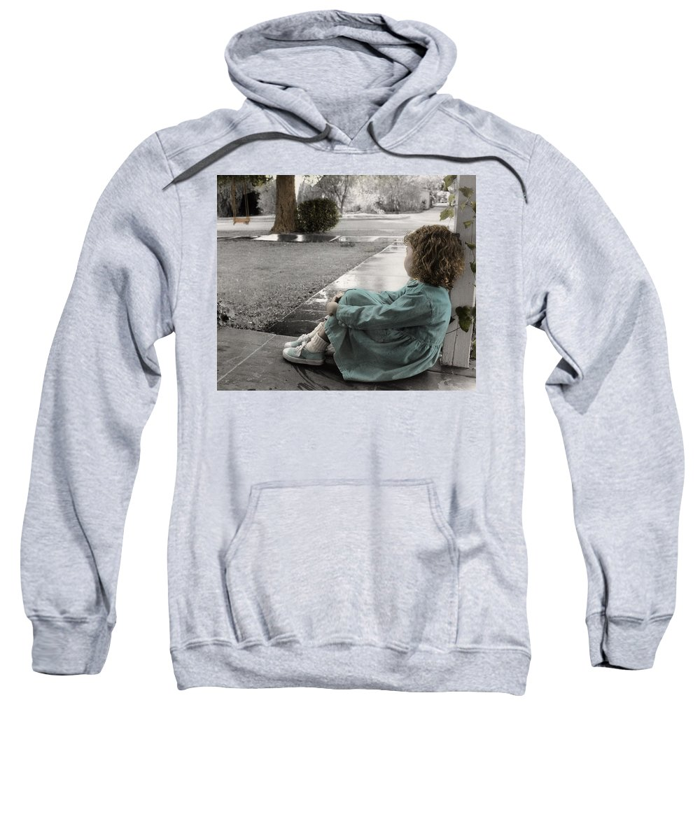 The Twelve Gifts Of Birth Sweatshirt featuring the photograph The Twelve Gifts Of Birth - Hope 1 by Jill Reger