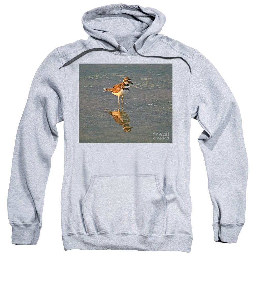 Related Tags: Birds Artwork Sweatshirt featuring the photograph The Two Of Me by Robert Pearson