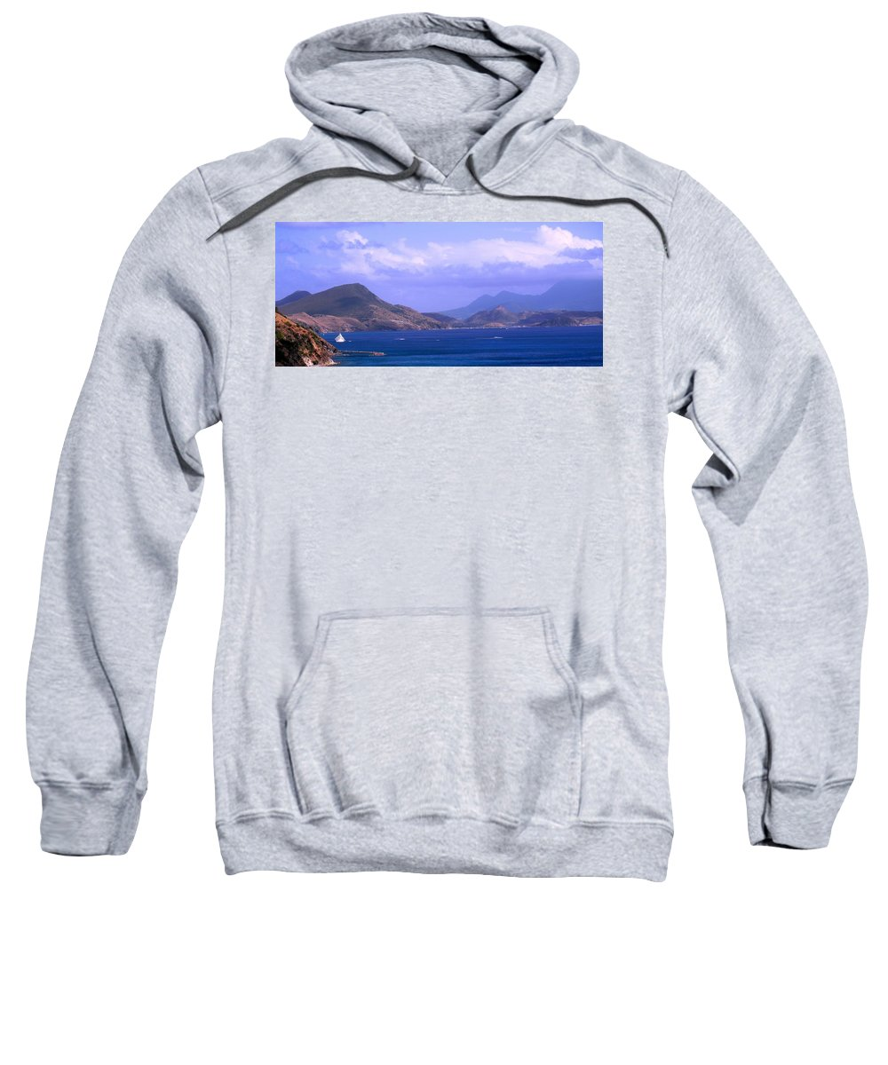 Marshalls Sweatshirt featuring the photograph The View From Marshalls by Ian MacDonald