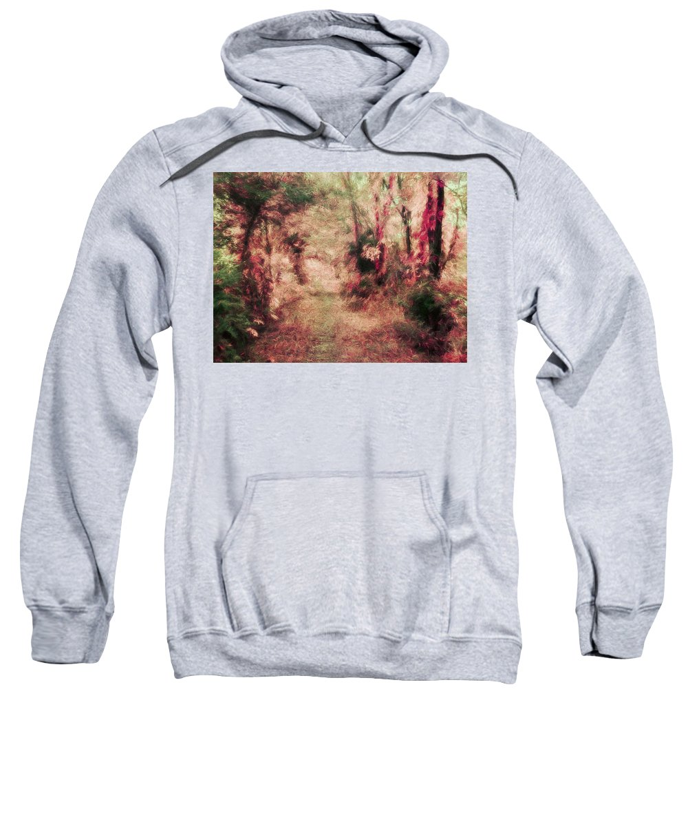 Trees Sweatshirt featuring the photograph The Vintage Way by Tina Baxter