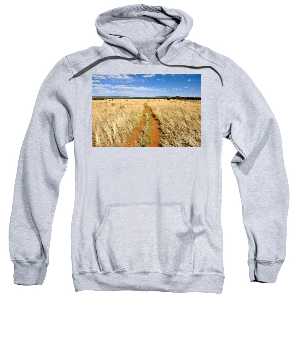 Trail Sweatshirt featuring the photograph The Westward Trail by David Lee Thompson