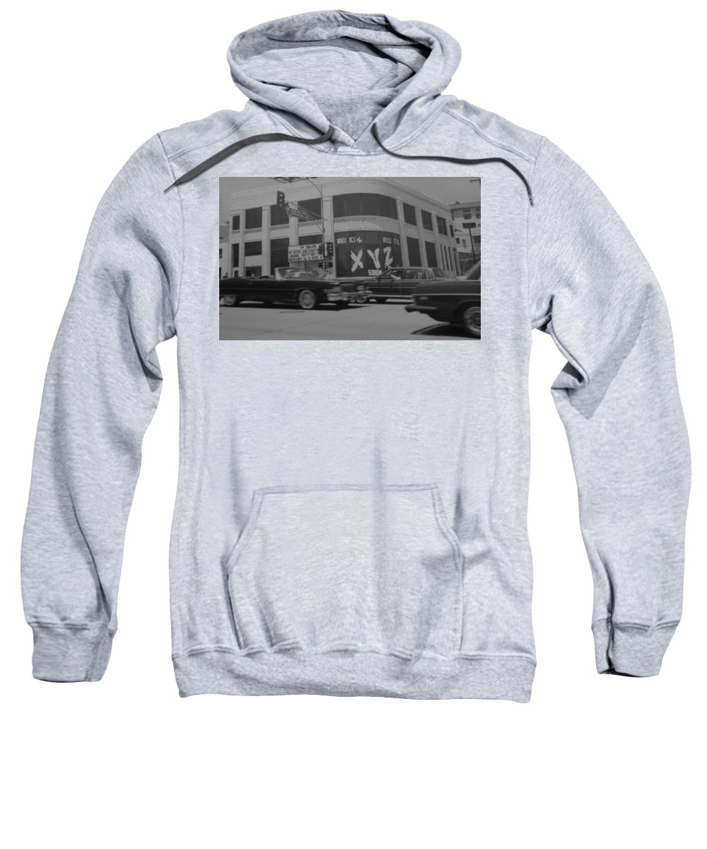 Black And White Sweatshirt featuring the photograph The Whiskey In Black And White by Rob Hans