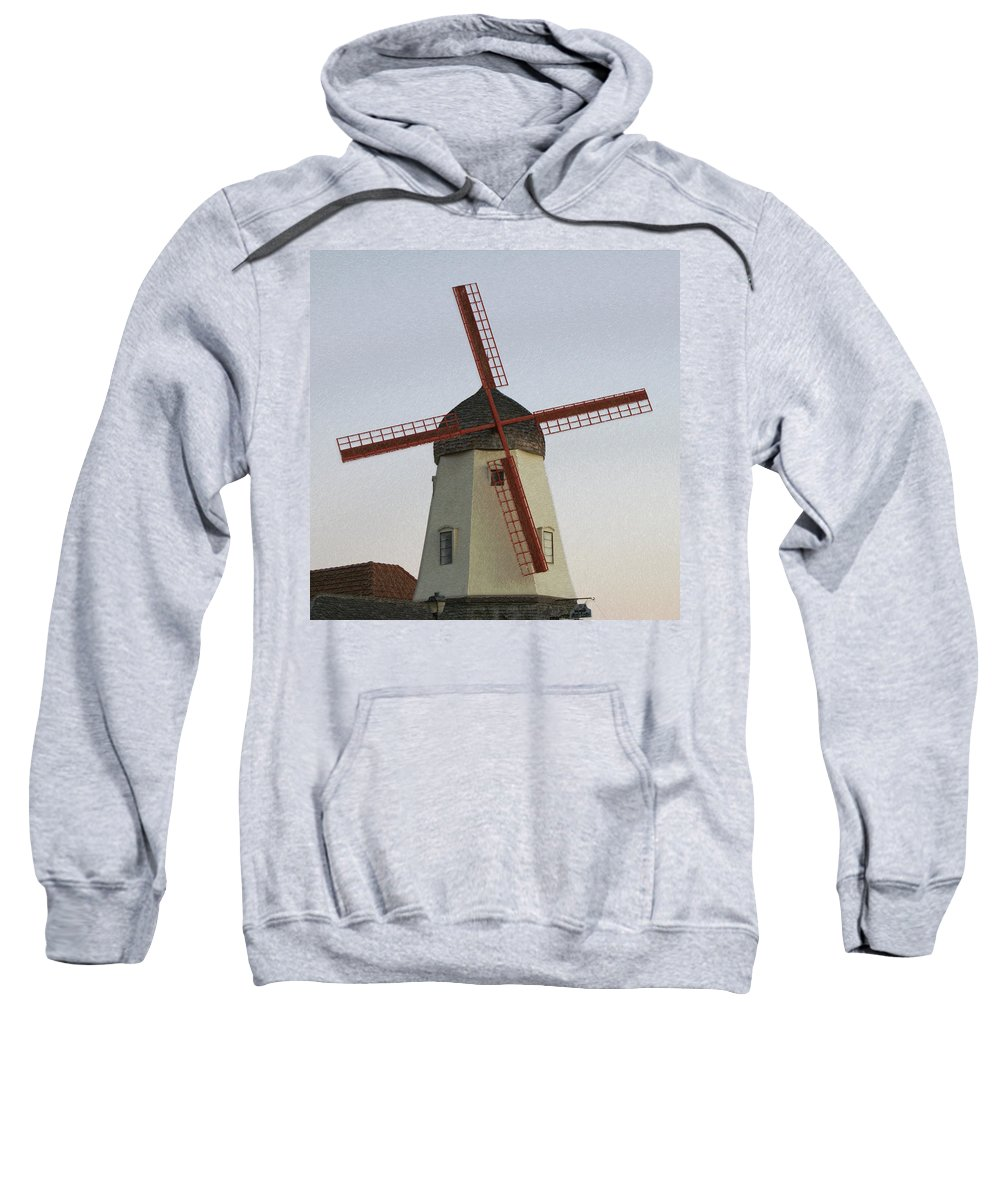 Mill Sweatshirt featuring the photograph The Windmill by Ernie Echols