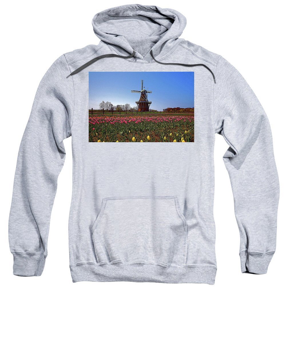 Wind Mill Sweatshirt featuring the photograph The Windmill Poster by Robert Pearson