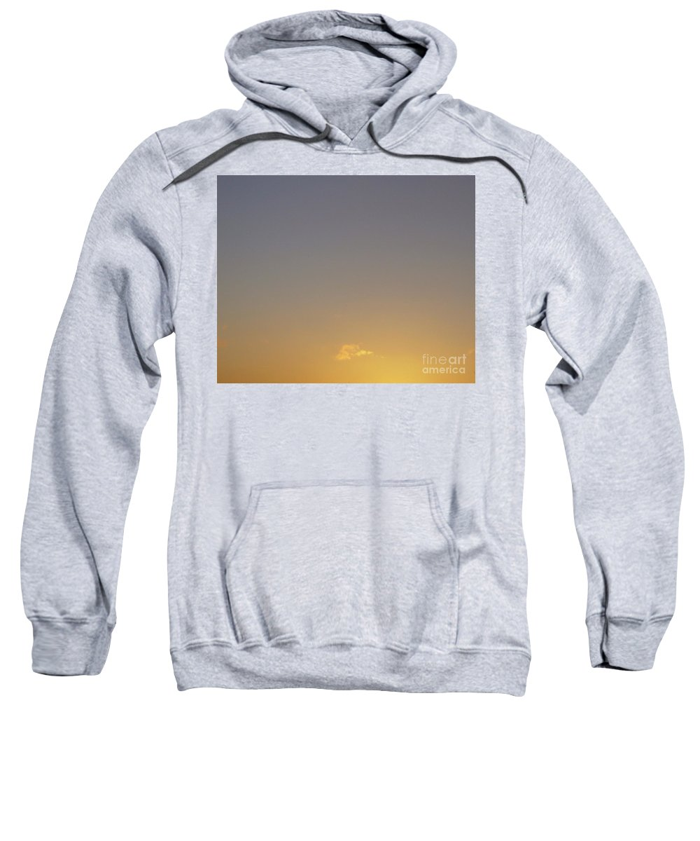 Sunrise Sweatshirt featuring the photograph There Is A Time For Everything In Life by Leonore VanScheidt