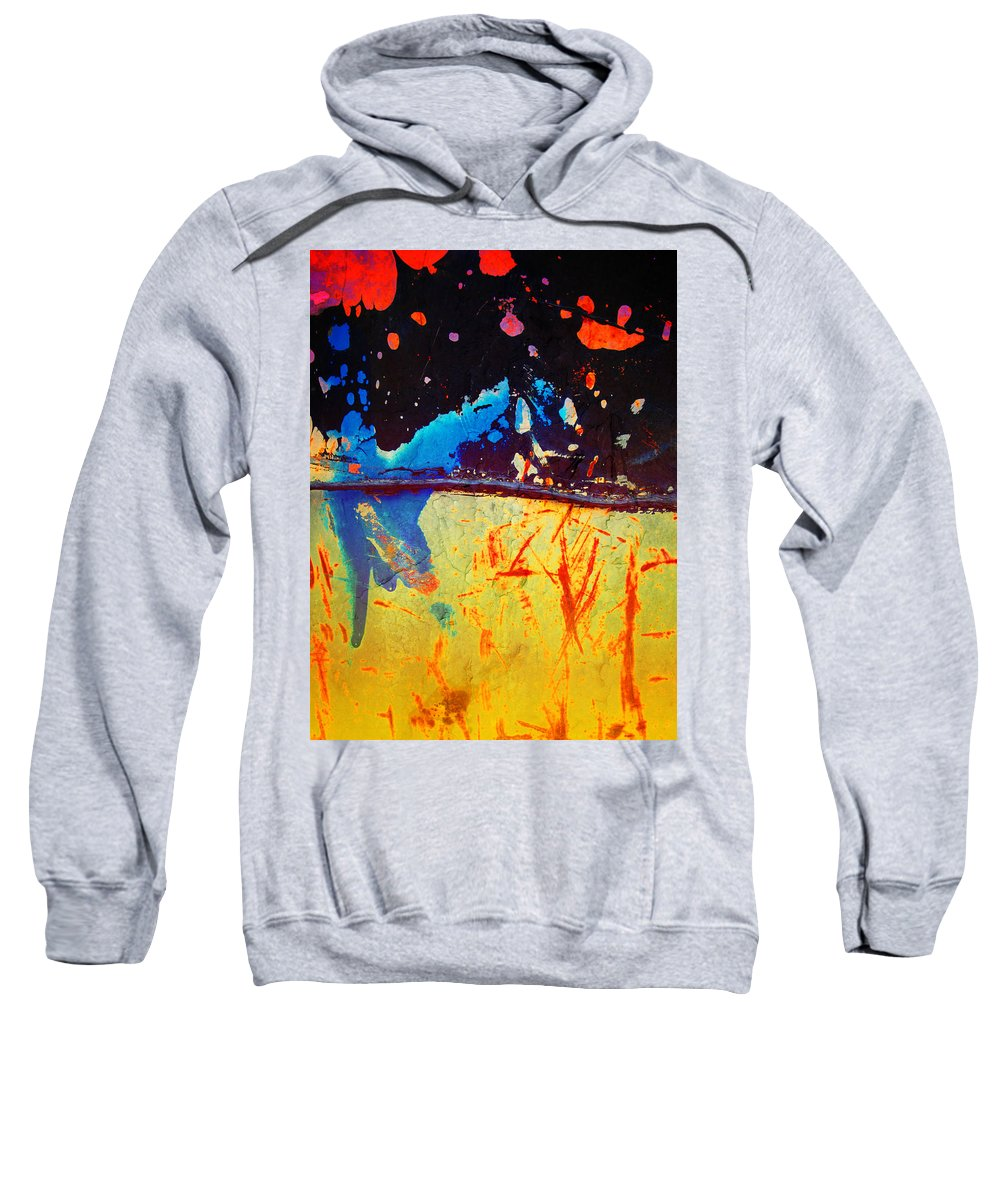 Macro Sweatshirt featuring the photograph There Was A Time I Believed by Tara Turner