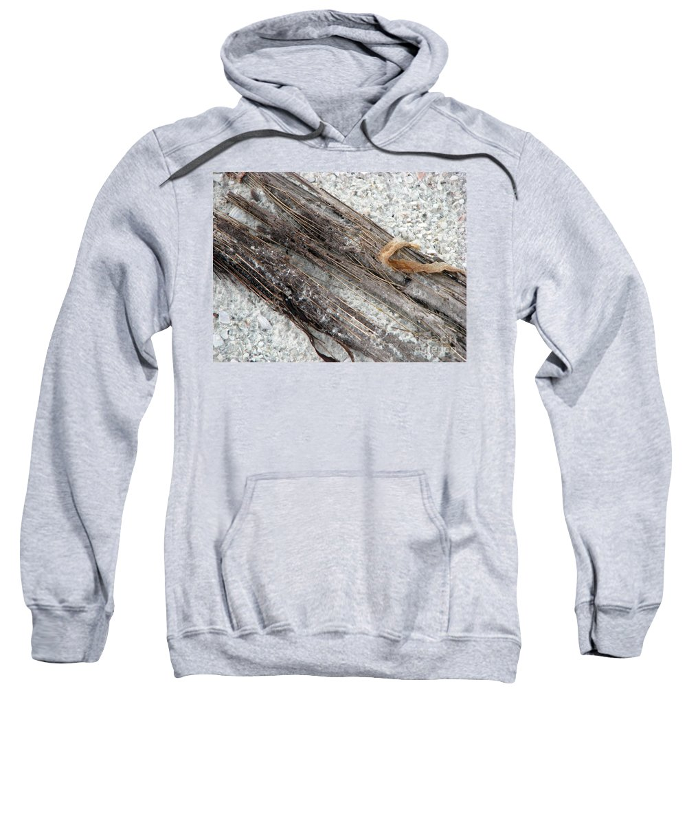 Beaches Sweatshirt featuring the photograph Things On The Beach by Amanda Barcon