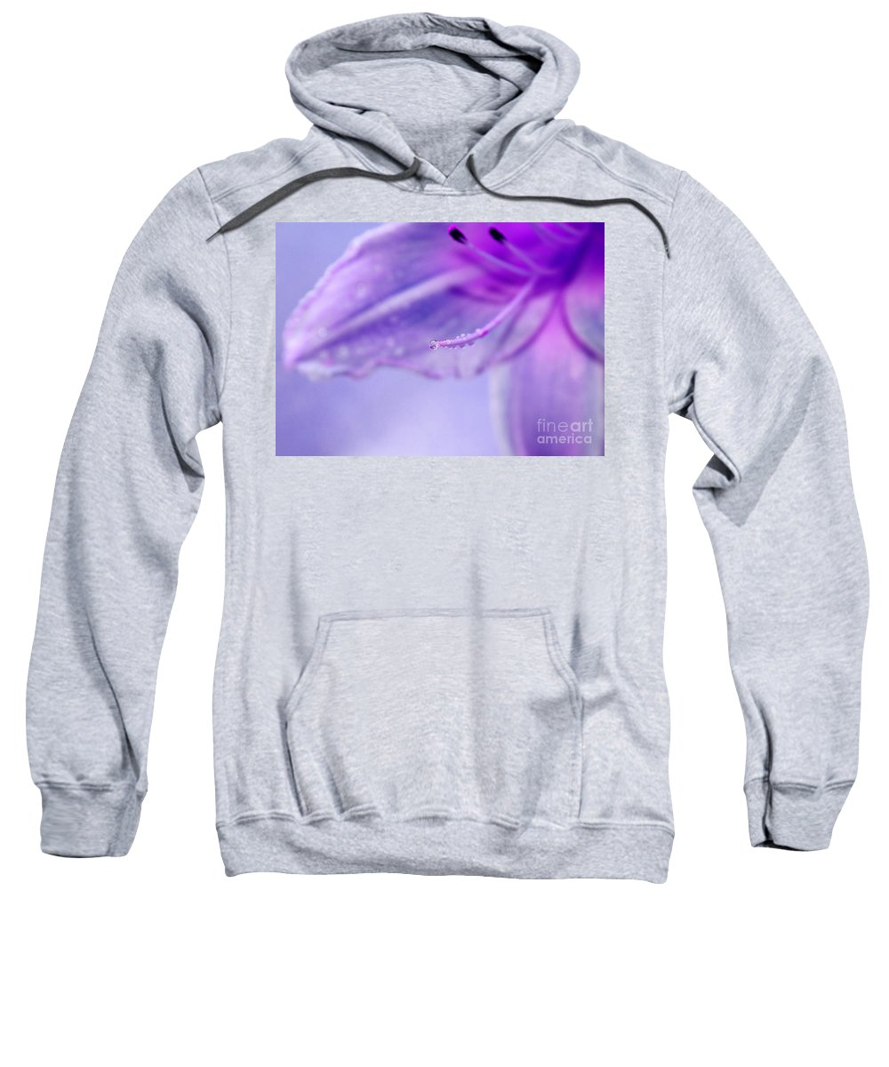 Lily Sweatshirt featuring the photograph Thirsty For Life by Krissy Katsimbras