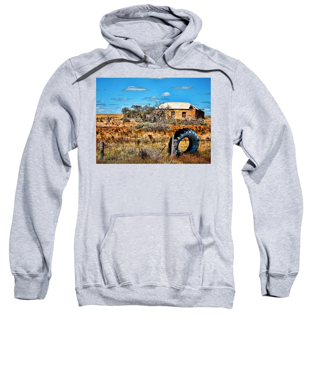 Ruins Sweatshirt featuring the photograph This Old House... by Douglas Barnard