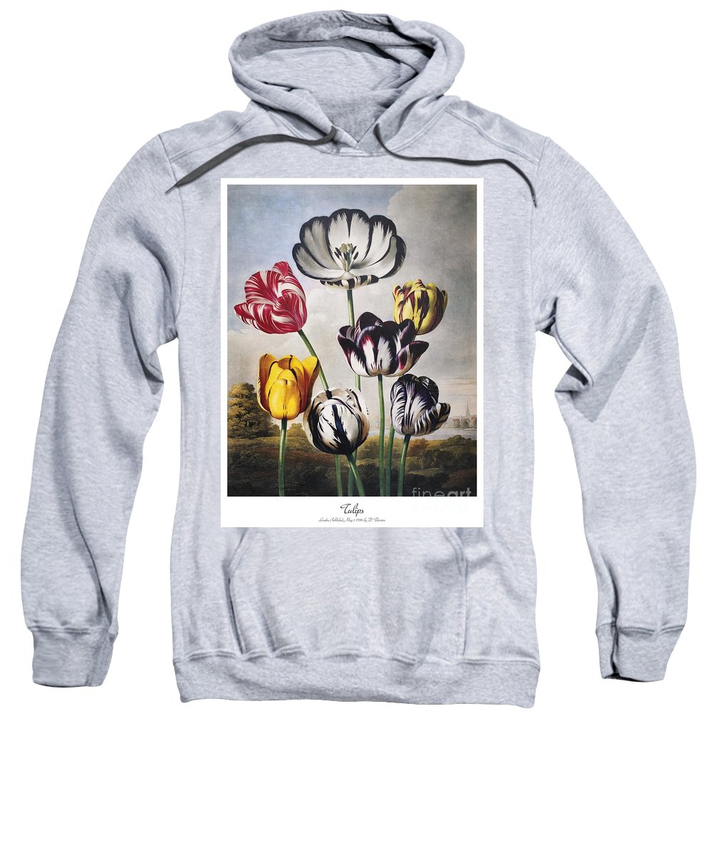 1798 Sweatshirt featuring the photograph Thornton: Tulips by Granger