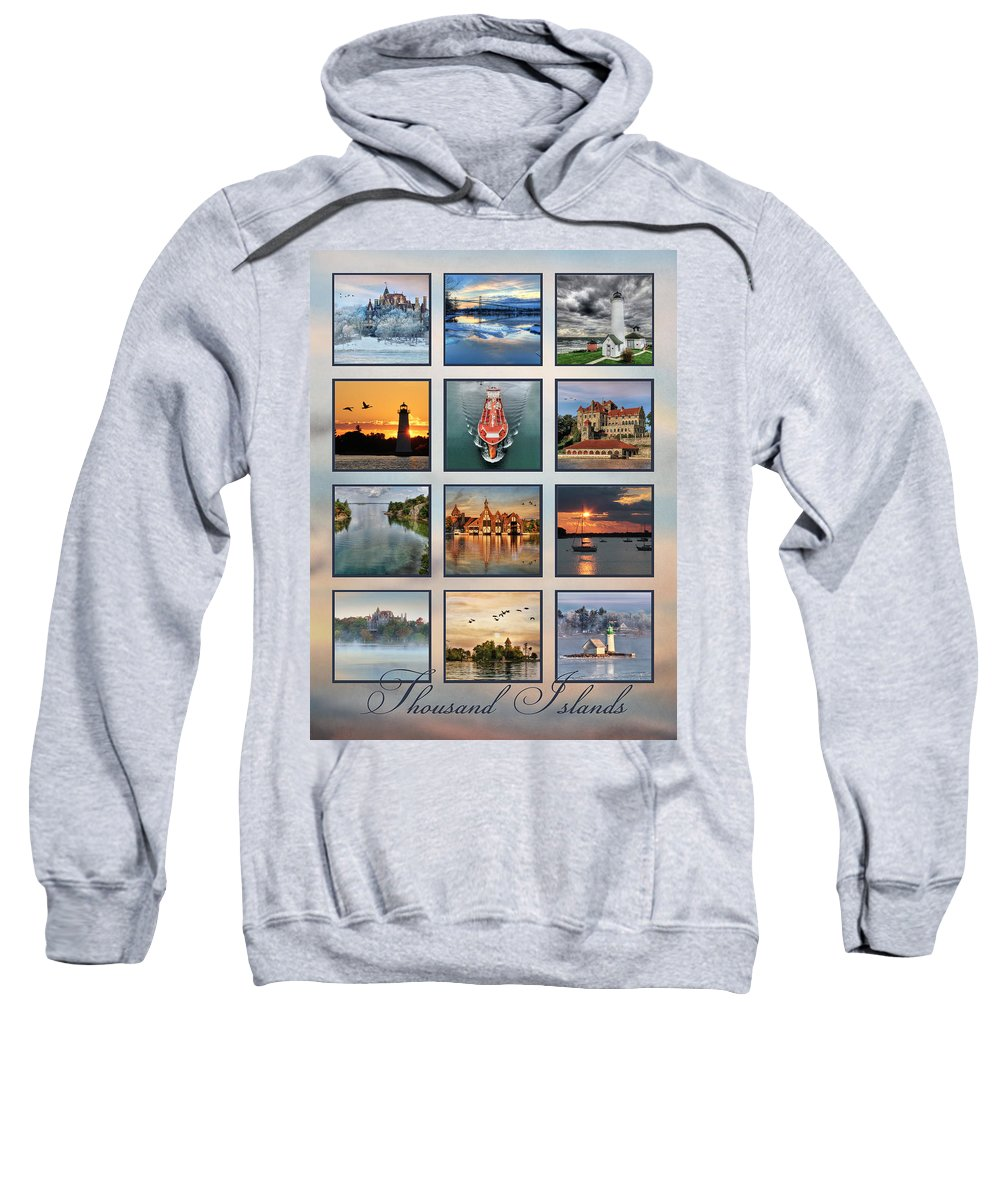 Thousand Islands Sweatshirt featuring the photograph Thousand Islands by Lori Deiter