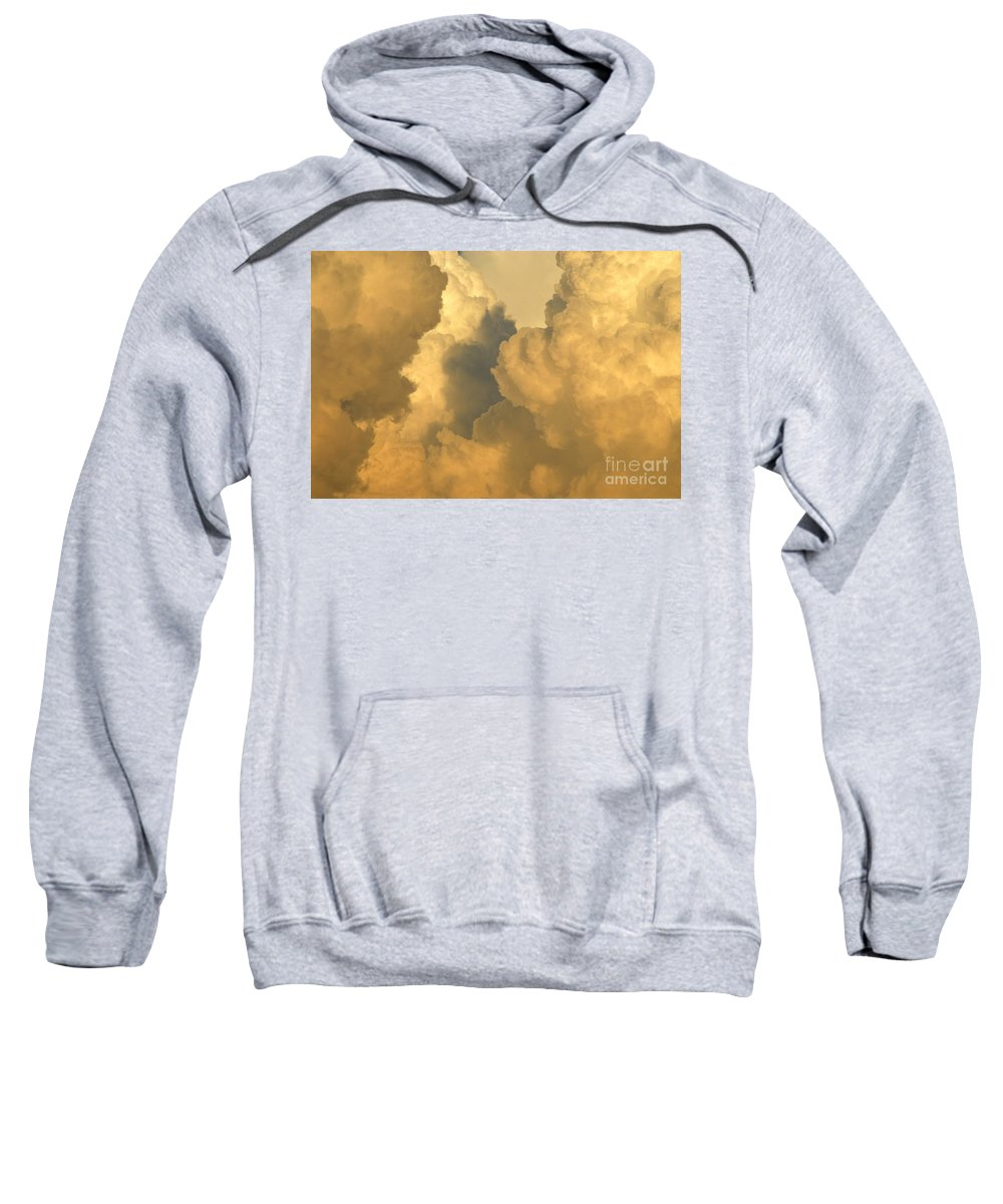 Clouds Sweatshirt featuring the photograph Thunder Heads by David Lee Thompson