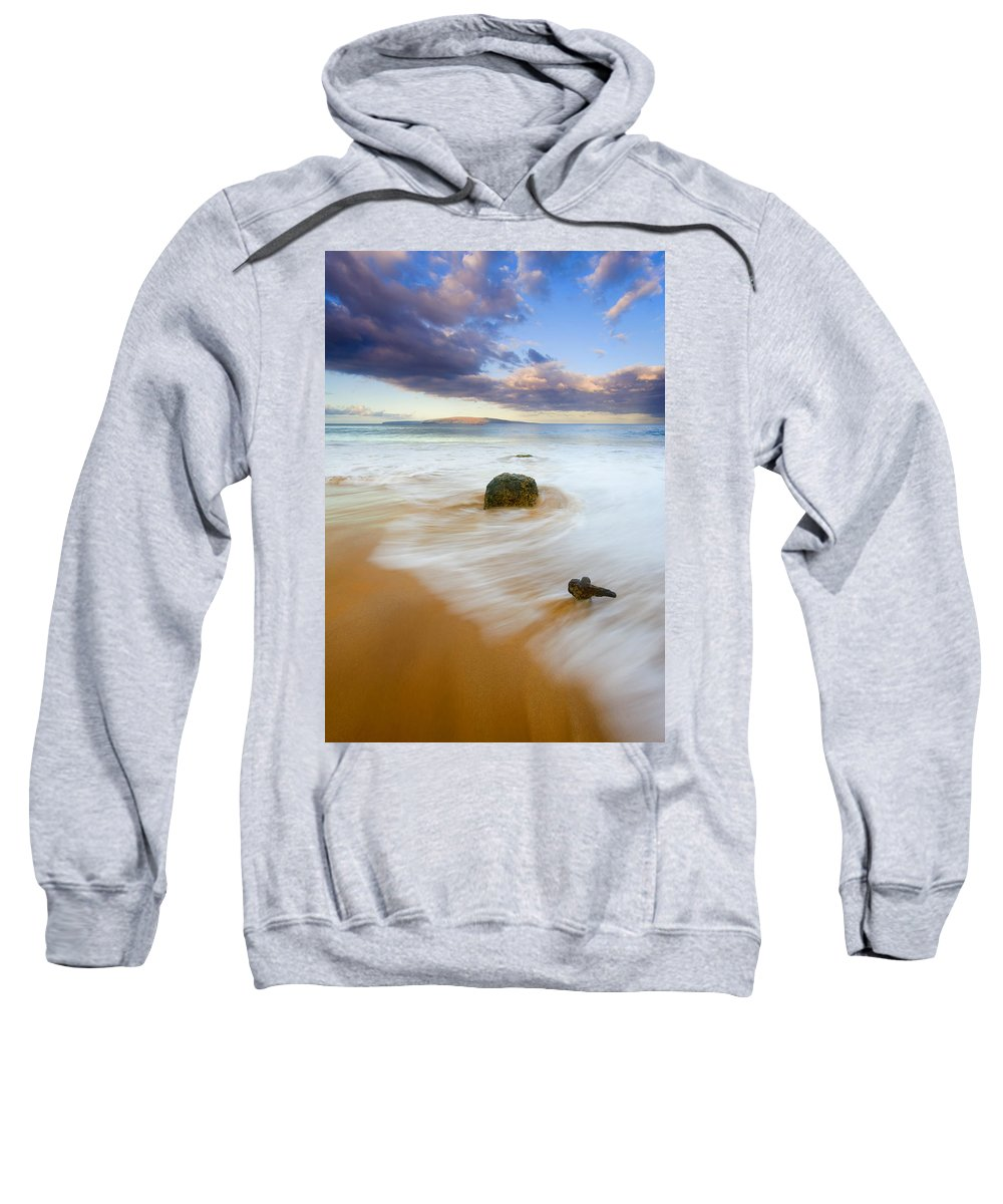 Maui Sweatshirt featuring the photograph Tied To The Past by Mike Dawson