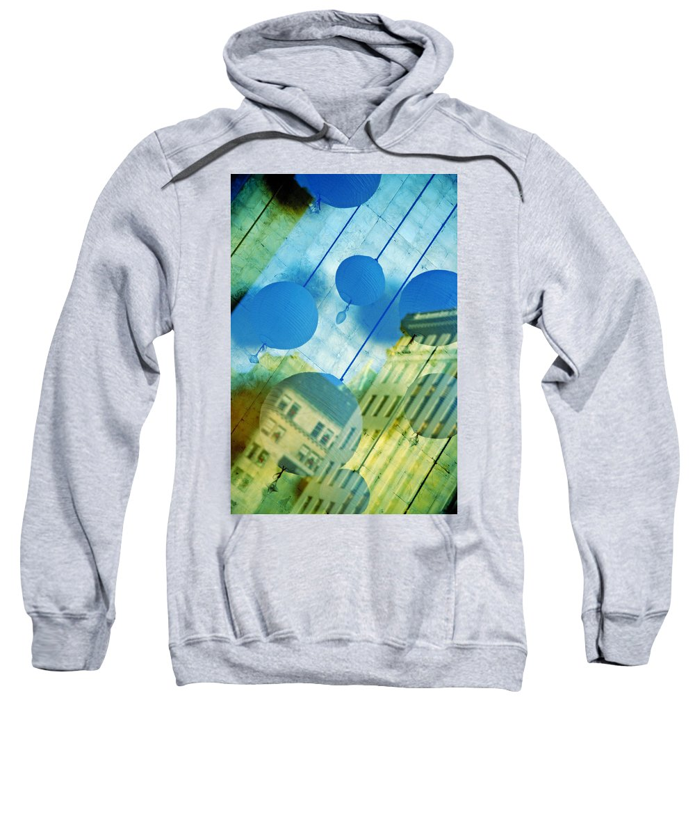 New York Sweatshirt featuring the photograph Tiffanys by Skip Hunt
