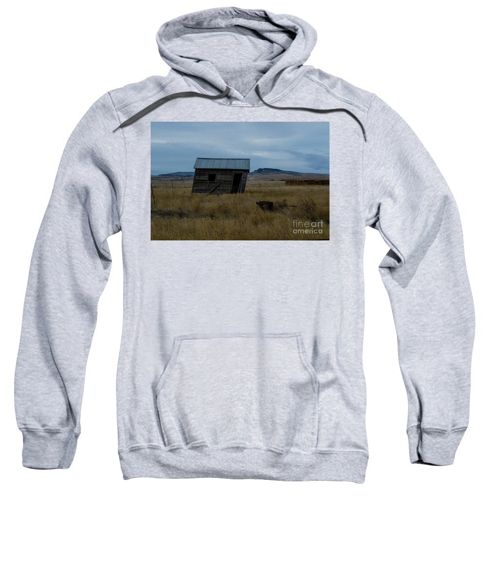 Landscape Sweatshirt featuring the photograph Tilt 2 by James Stewart