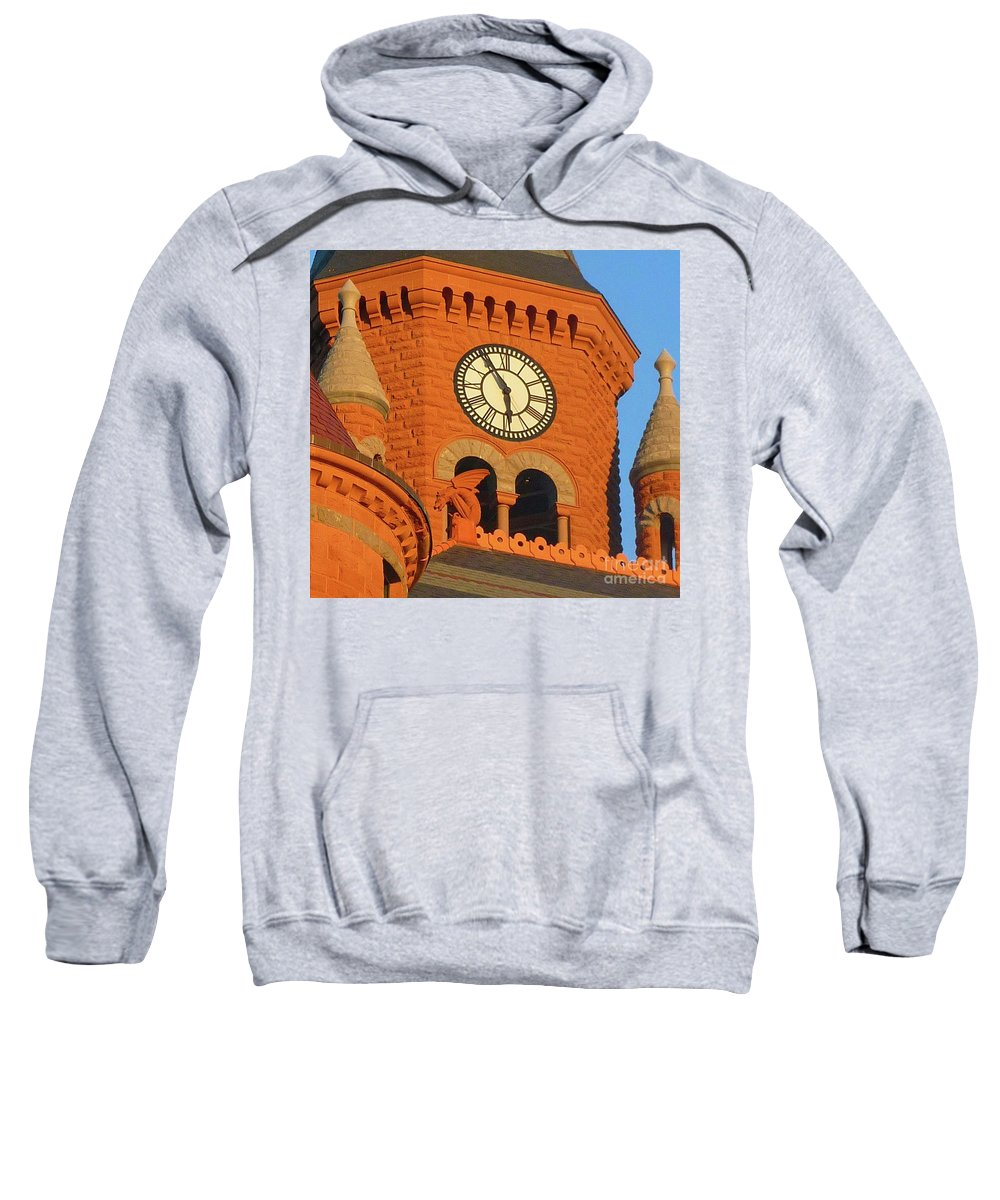Time Sweatshirt featuring the photograph Time by Angela Wright