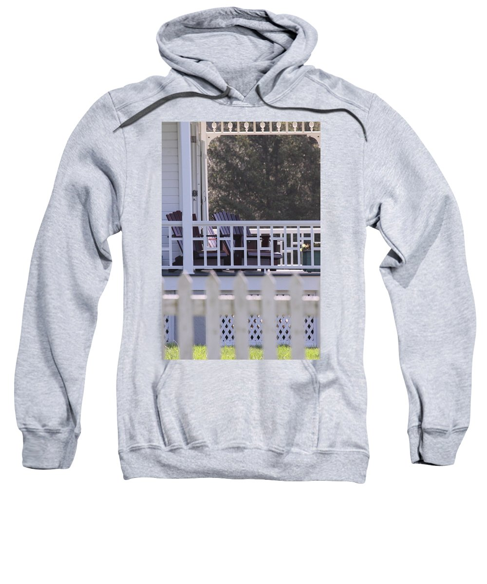 Architecture Sweatshirt featuring the photograph Time For Sweet Tea by Laddie Halupa
