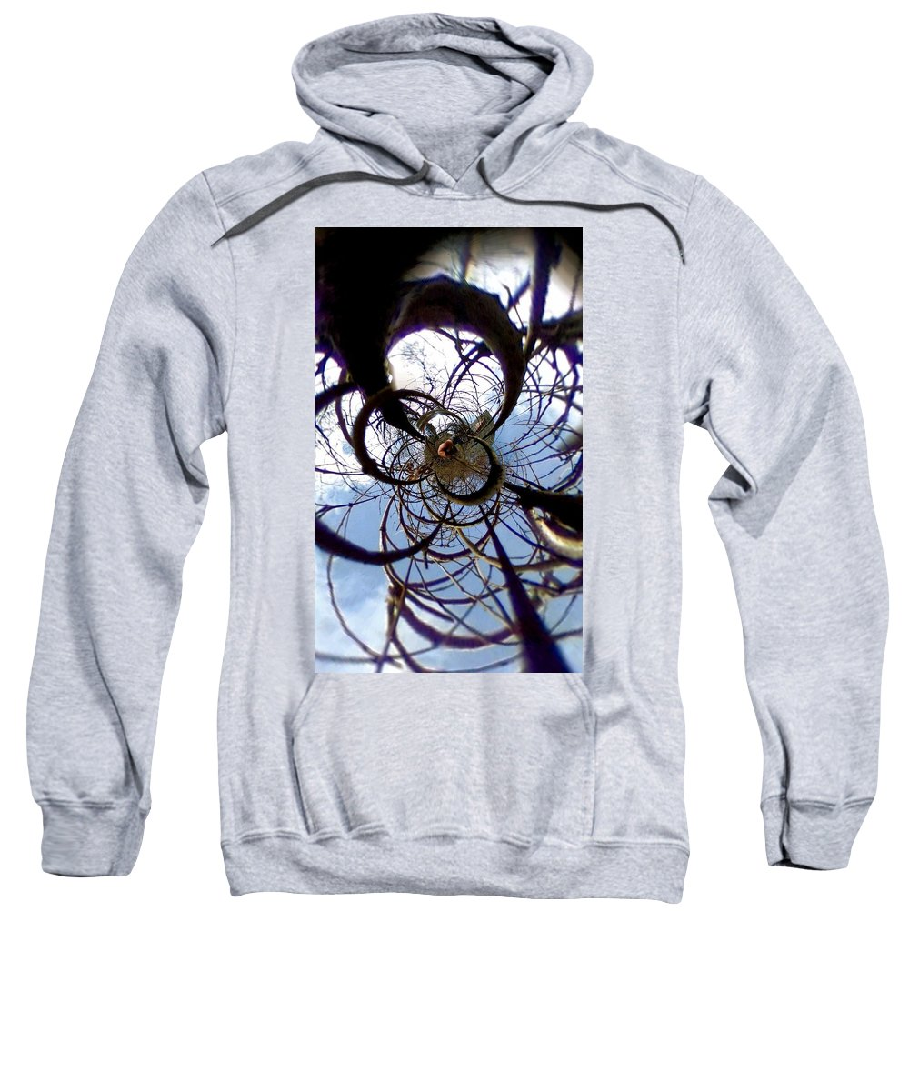 Uther Sweatshirt featuring the photograph Time Tunnel by Uther Pendraggin