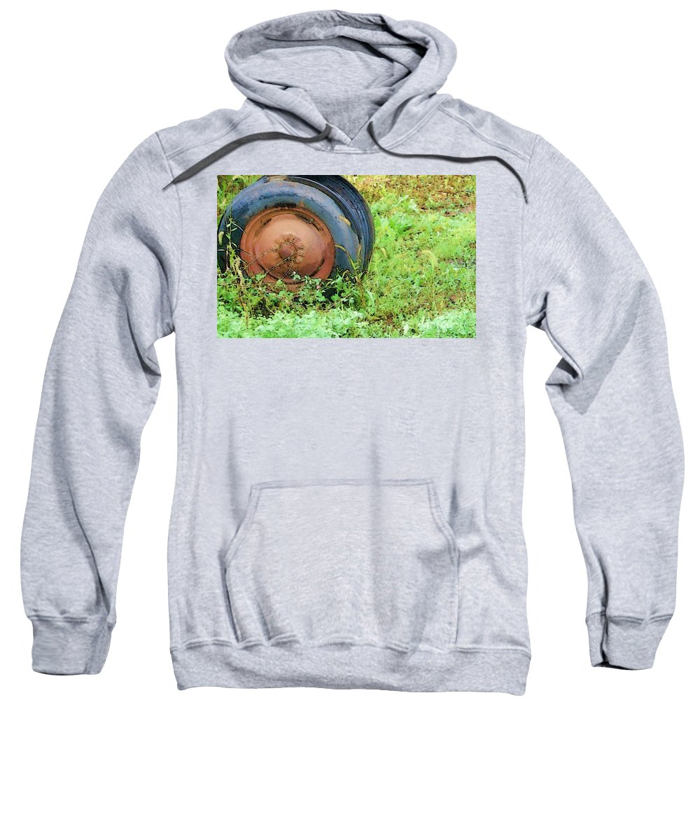 Tire Sweatshirt featuring the photograph Tired by Debbi Granruth