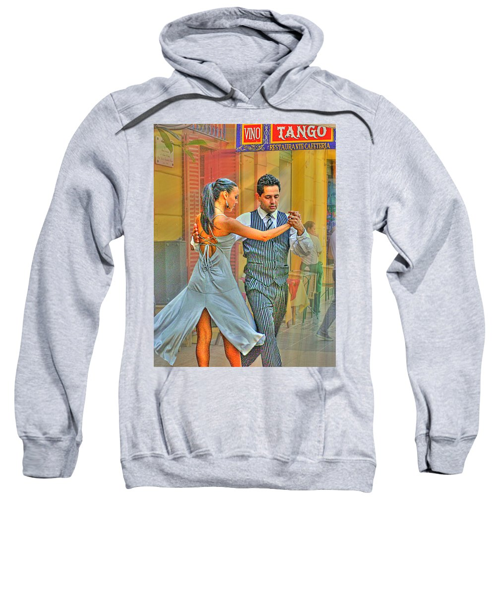 Tango Sweatshirt featuring the photograph Too Tango by Francisco Colon
