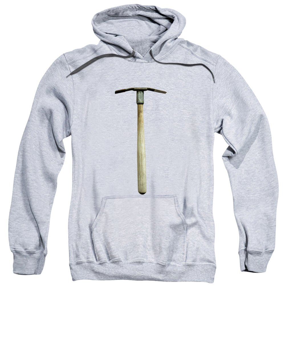 Art Sweatshirt featuring the photograph Tools On Wood 16 on BW by YoPedro