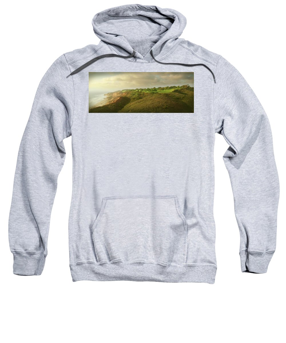 Torrey Pines Sweatshirt featuring the photograph Torrey Pines Landscape by Guy Crittenden