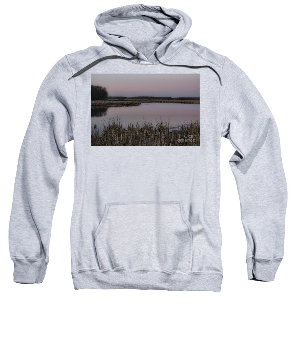 Light Sweatshirt featuring the photograph Total Peace And Calm by Deborah Benoit