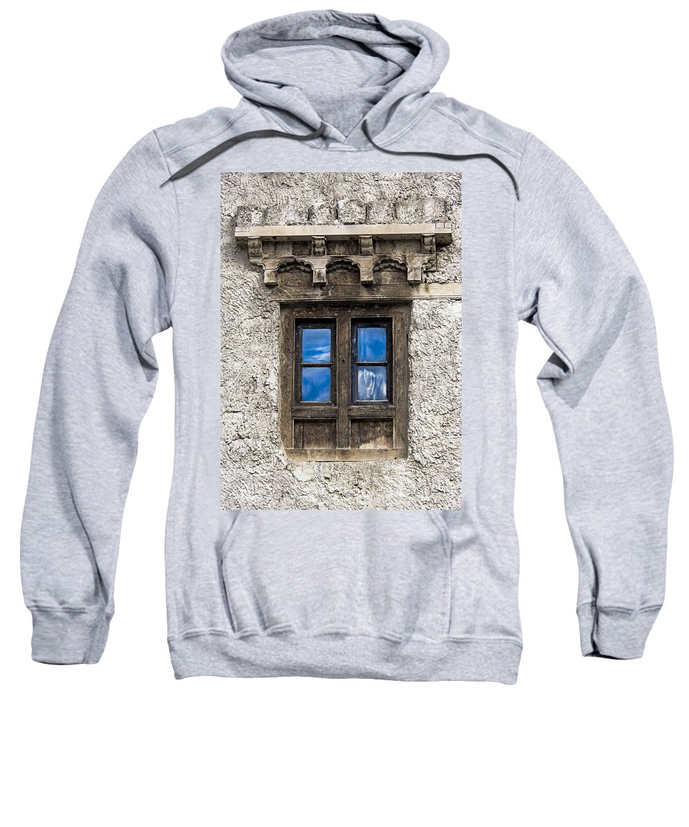 Window Sweatshirt featuring the photograph Touch Of Sky by Hitendra SINKAR