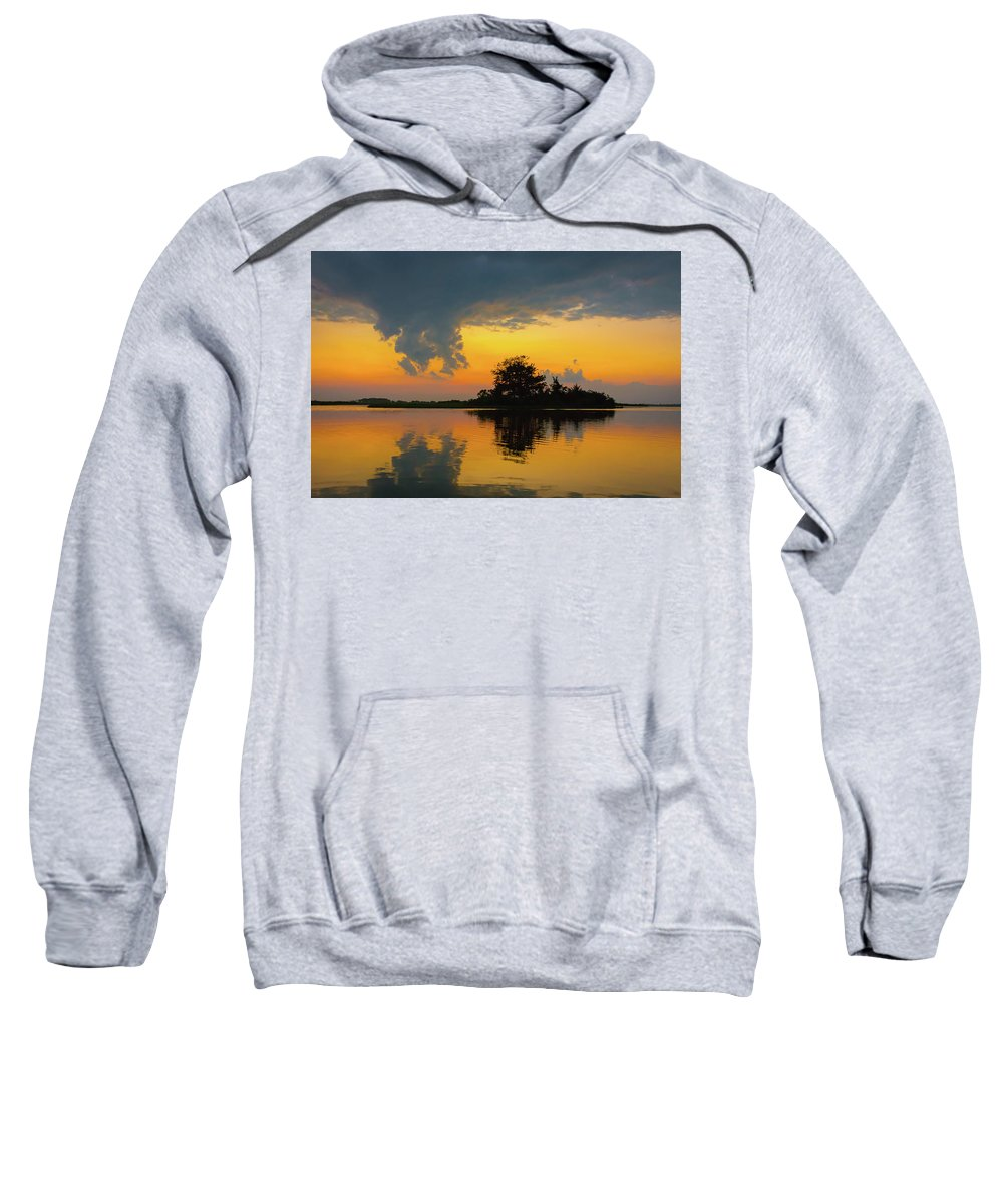 Sunset Sweatshirt featuring the photograph Touch The Sky by Jodi Lyn Jones
