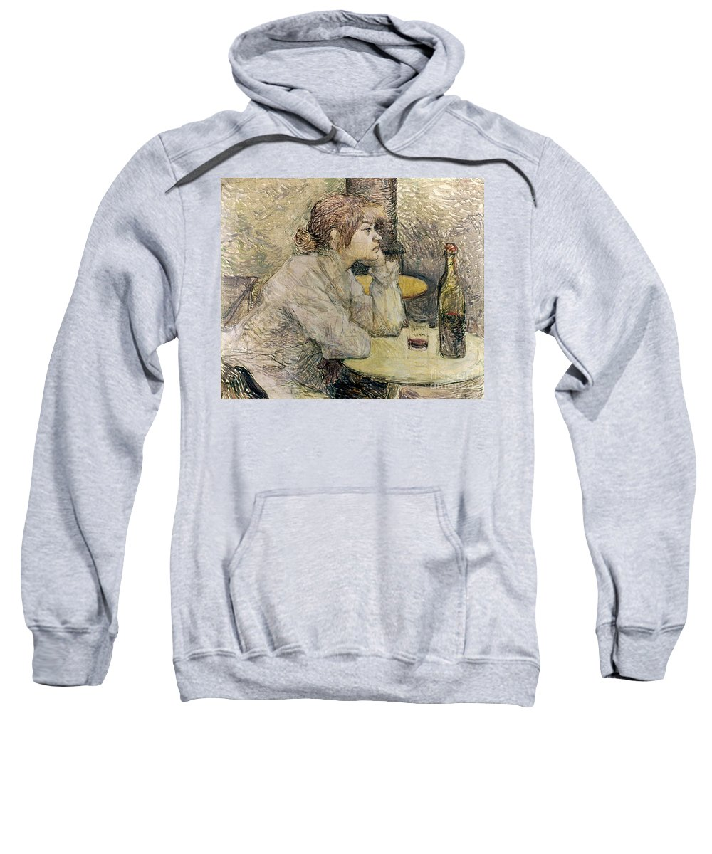 1889 Sweatshirt featuring the photograph Toulouse-lautrec, 1889 by Granger