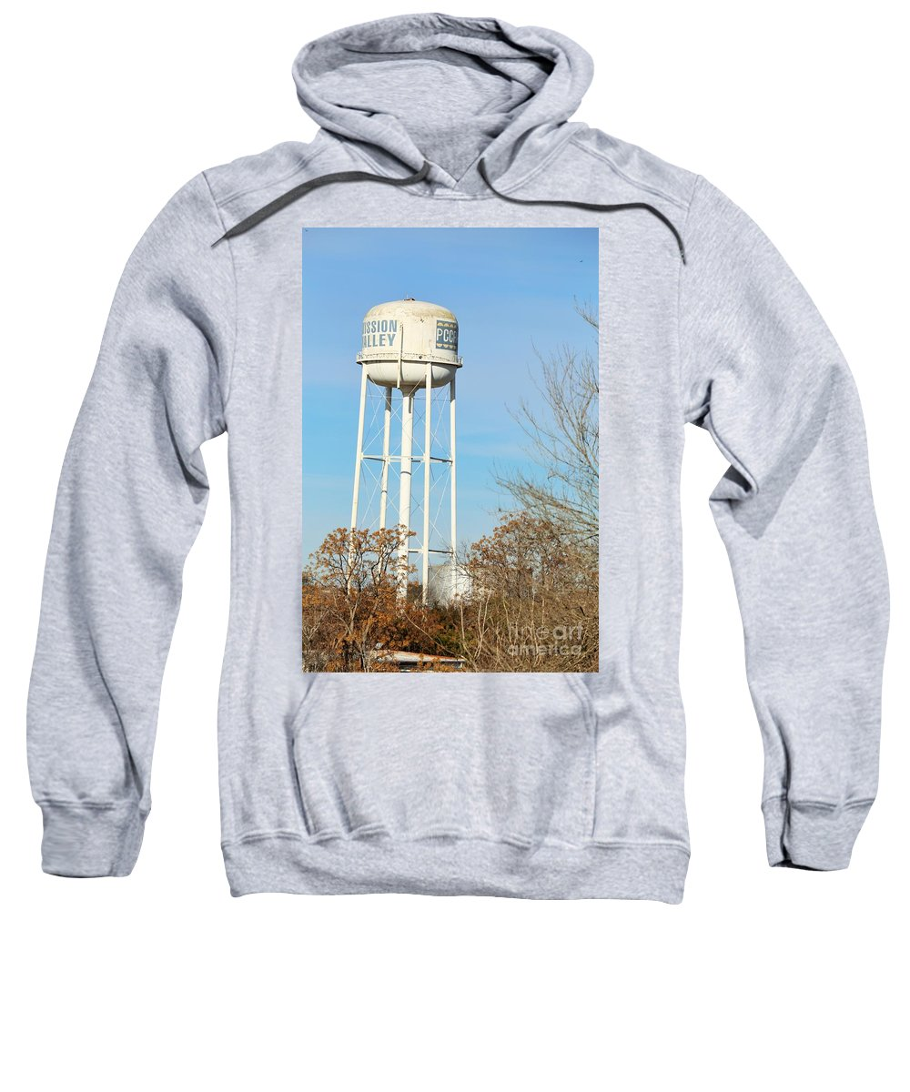 Sweatshirt featuring the photograph Tower by Jeff Downs