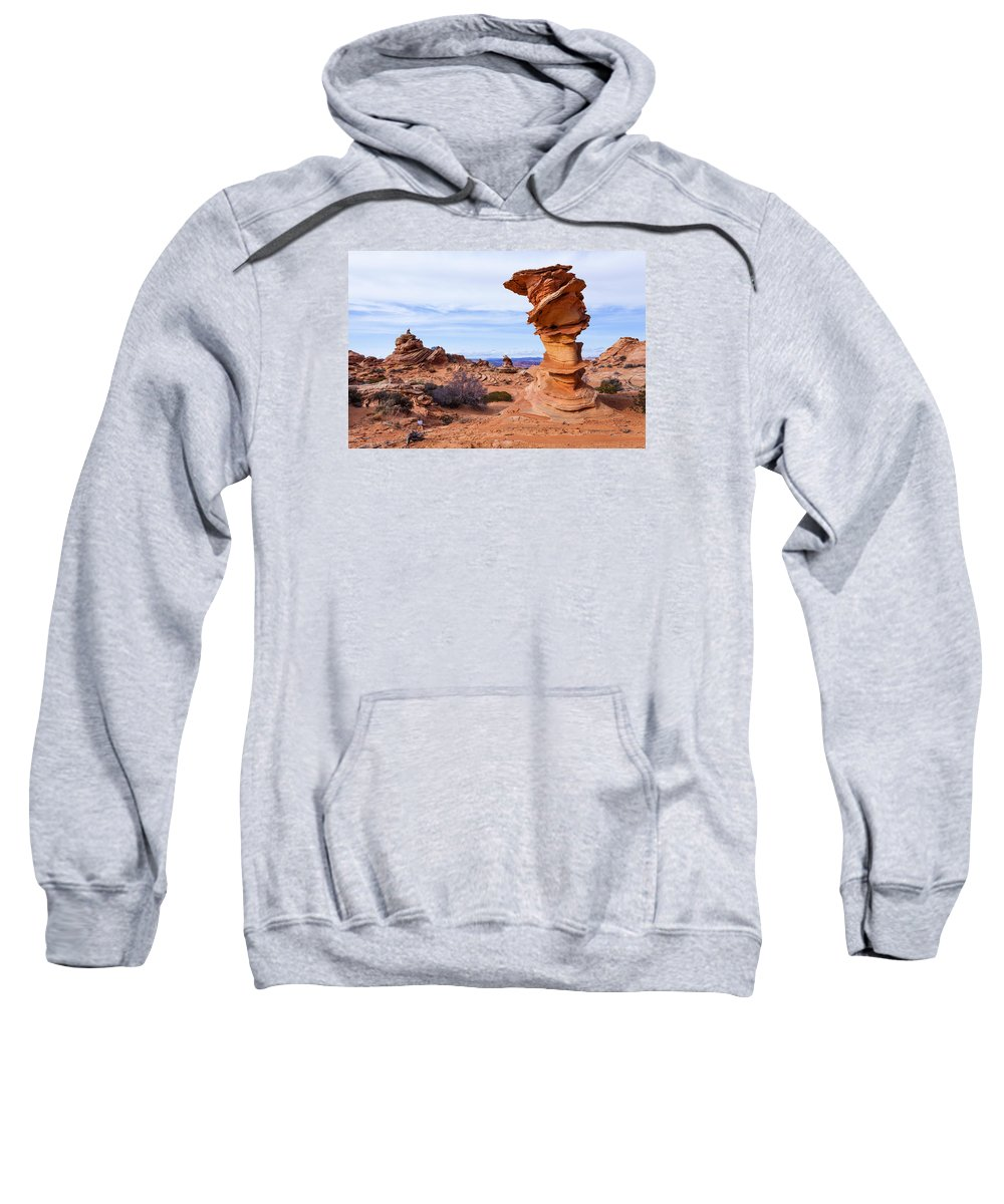Towerscape Sweatshirt featuring the photograph Towerscape by Chad Dutson