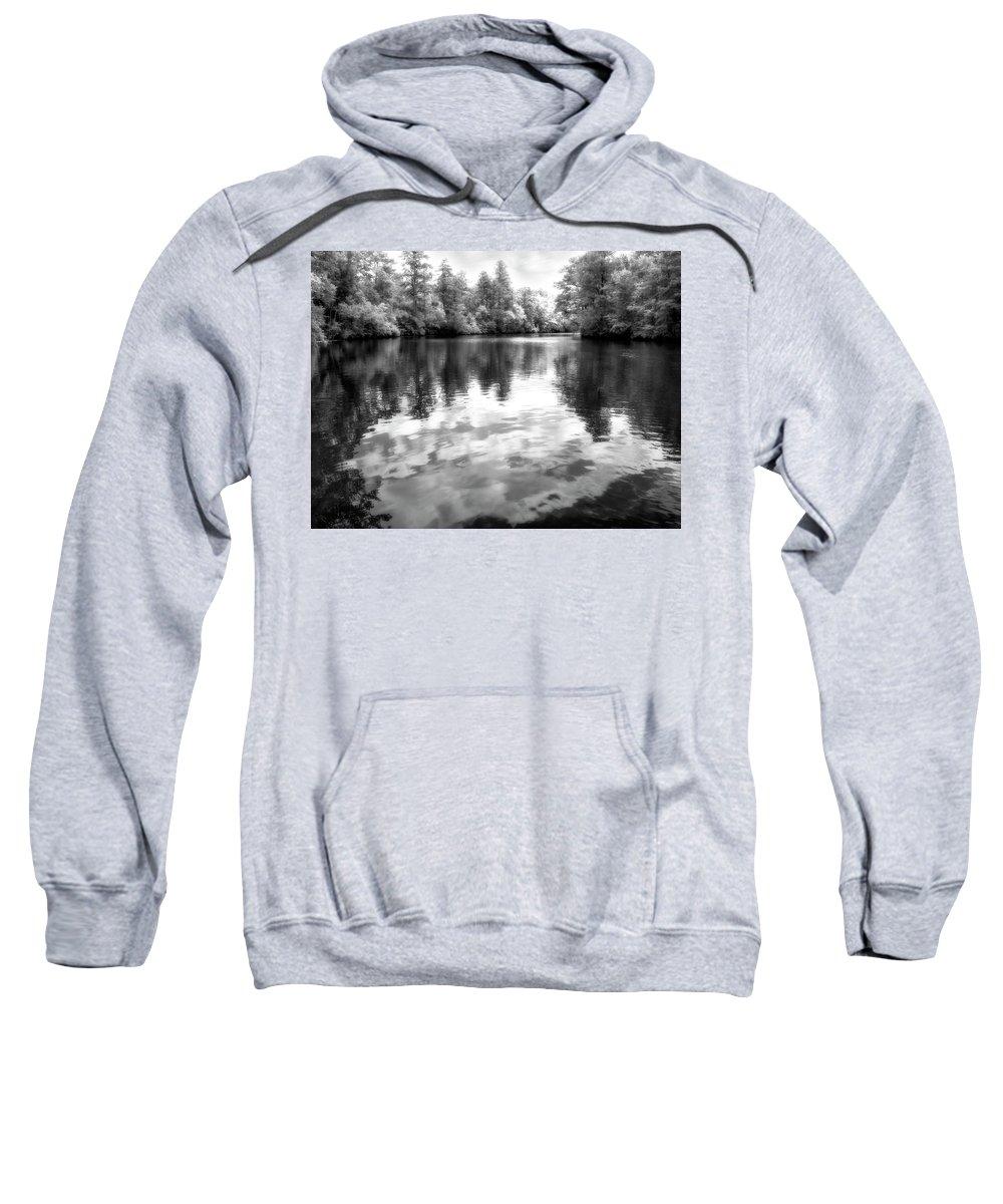 Creek Sweatshirt featuring the photograph Town Creek by Paul Schreiber