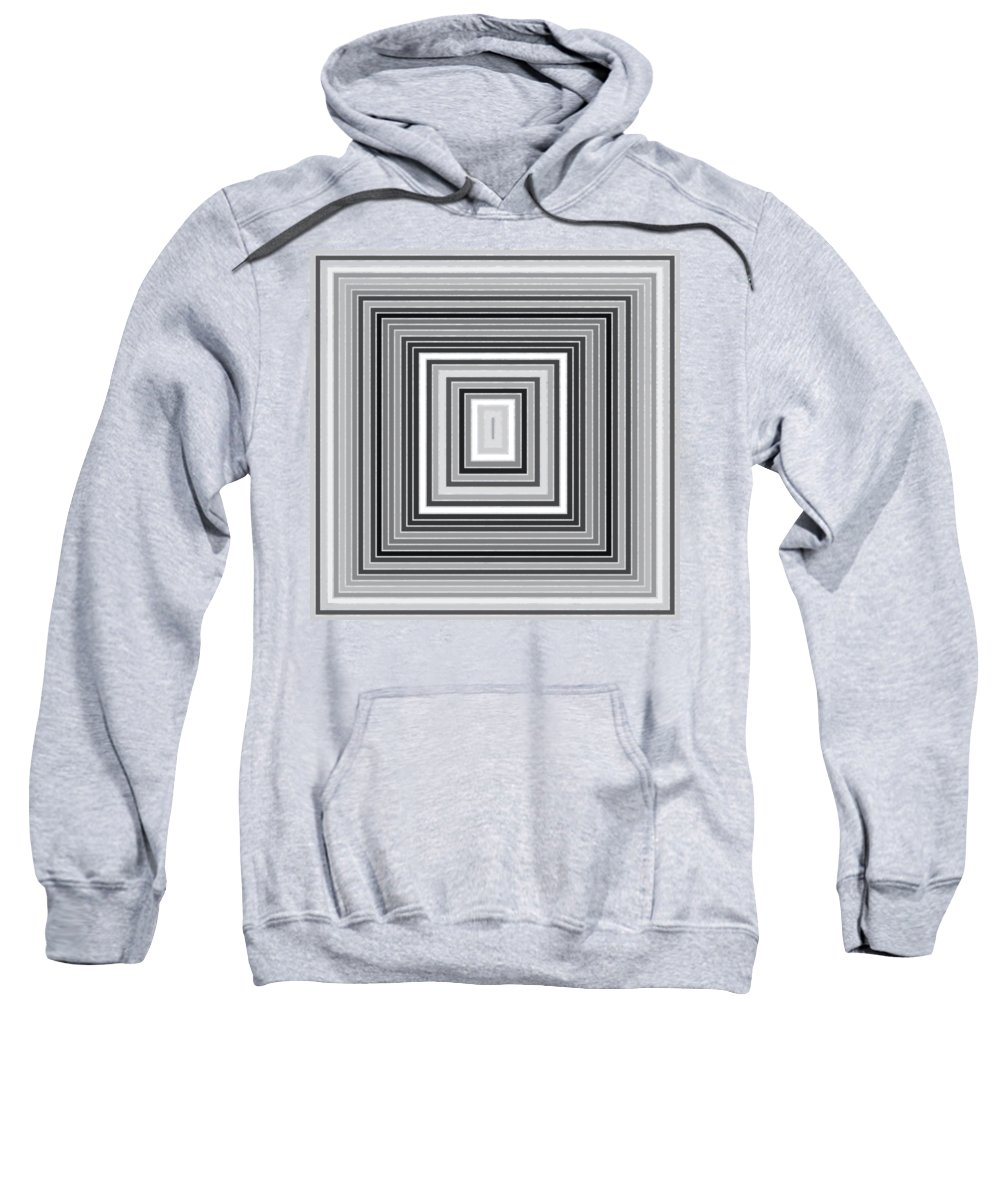 Abstract Sweatshirt featuring the digital art Tp.1.2 by Gareth Lewis