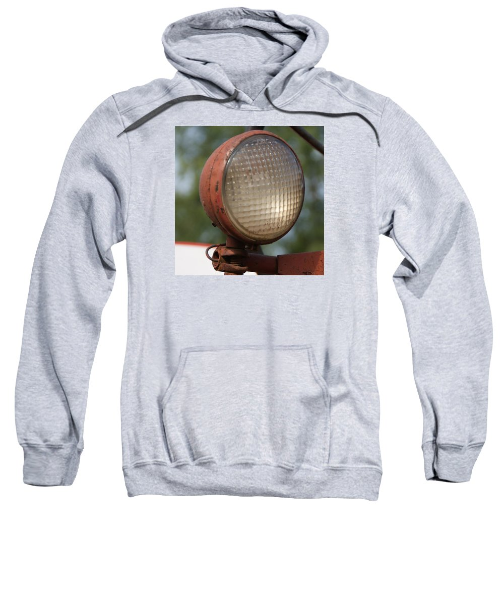 Tractor Sweatshirt featuring the photograph Tractor light by Toni Berry