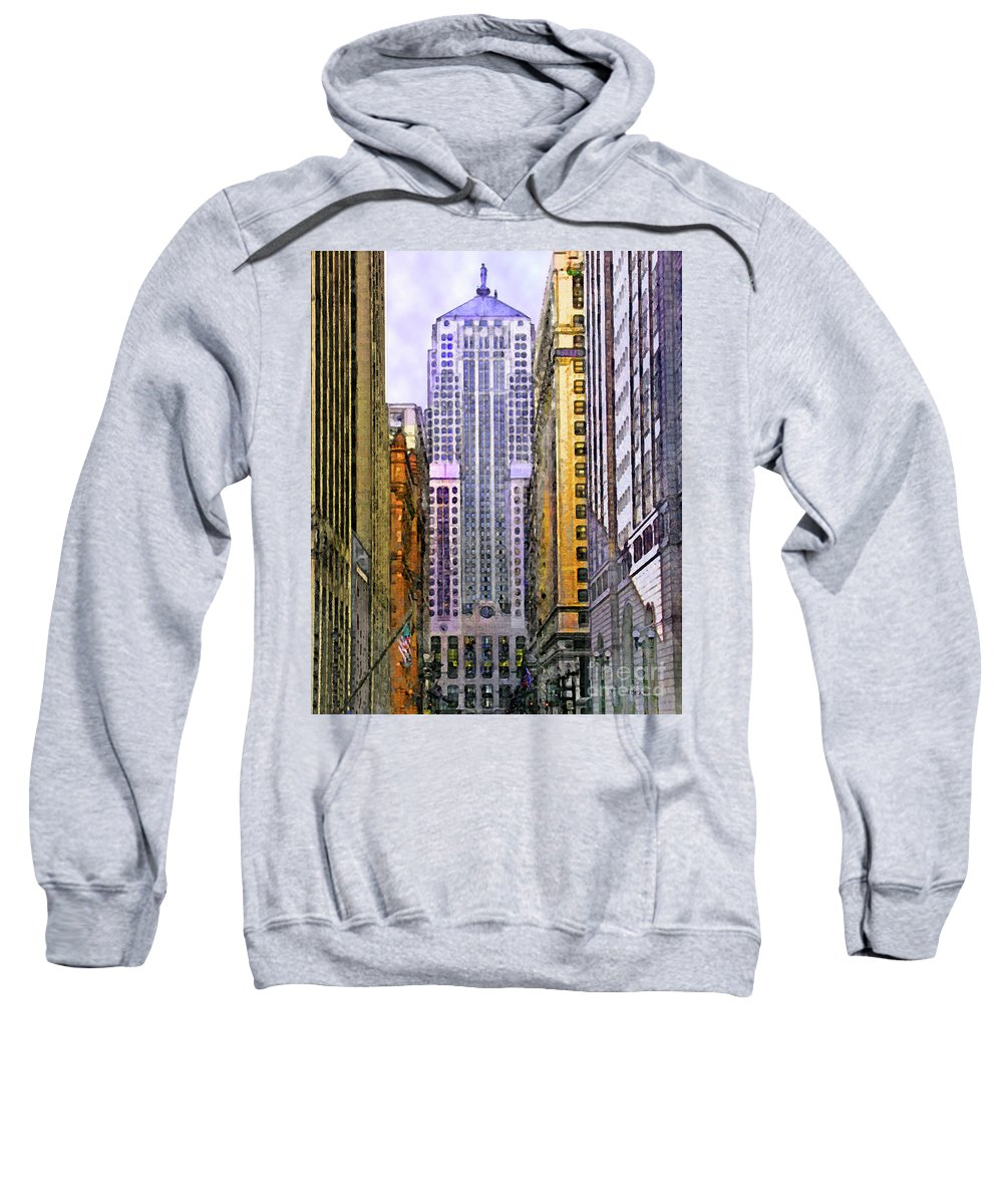 Trading Places Sweatshirt featuring the digital art Trading Places by John Beck