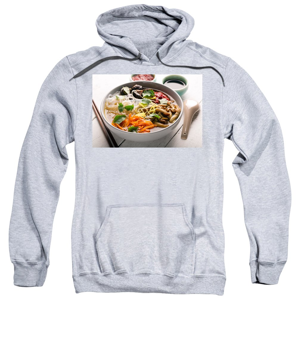 Vadim Goodwill Sweatshirt featuring the photograph Traditional Chinese Soup by Vadim Goodwill