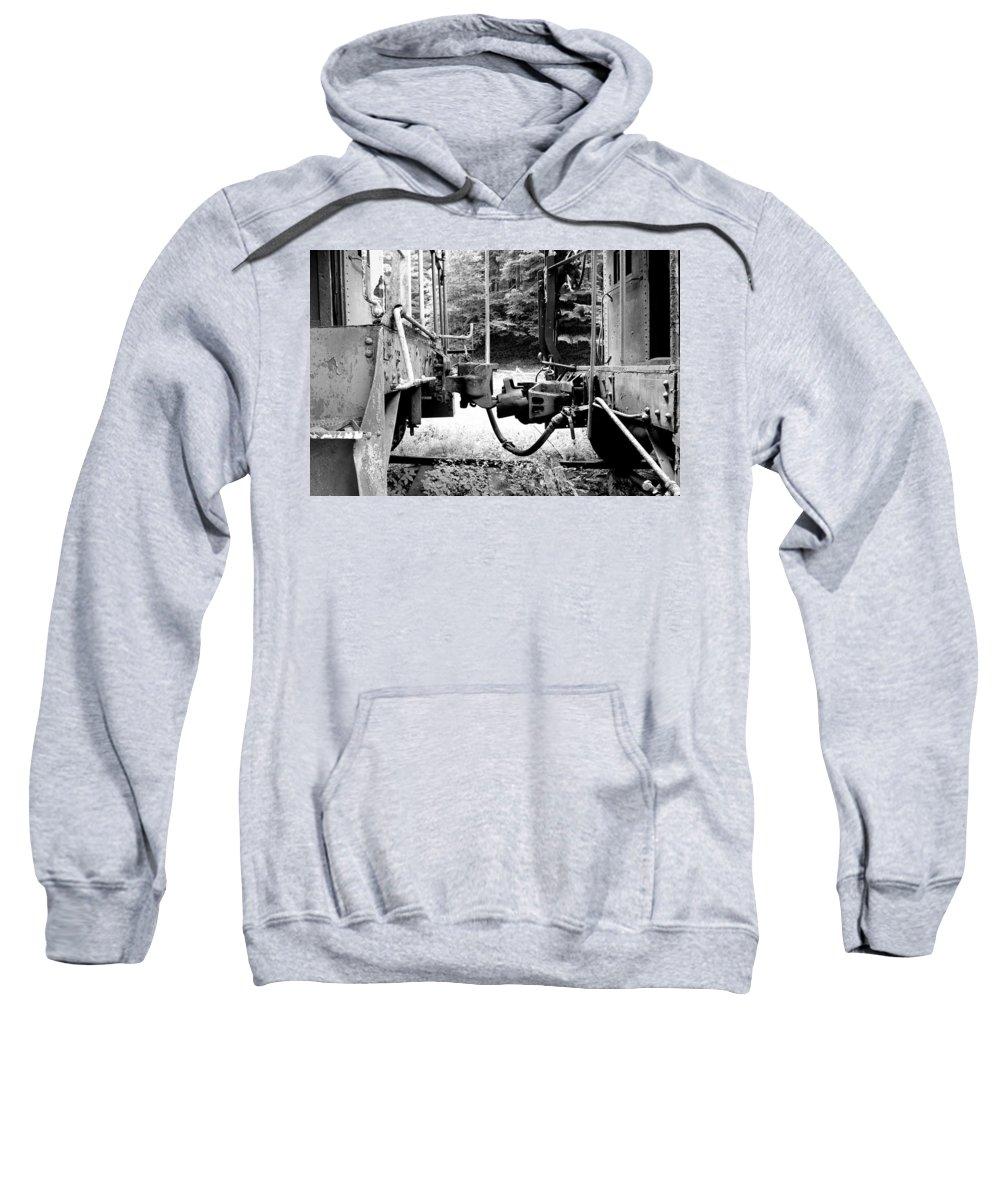 Train Sweatshirt featuring the photograph Train by Sebastian Musial
