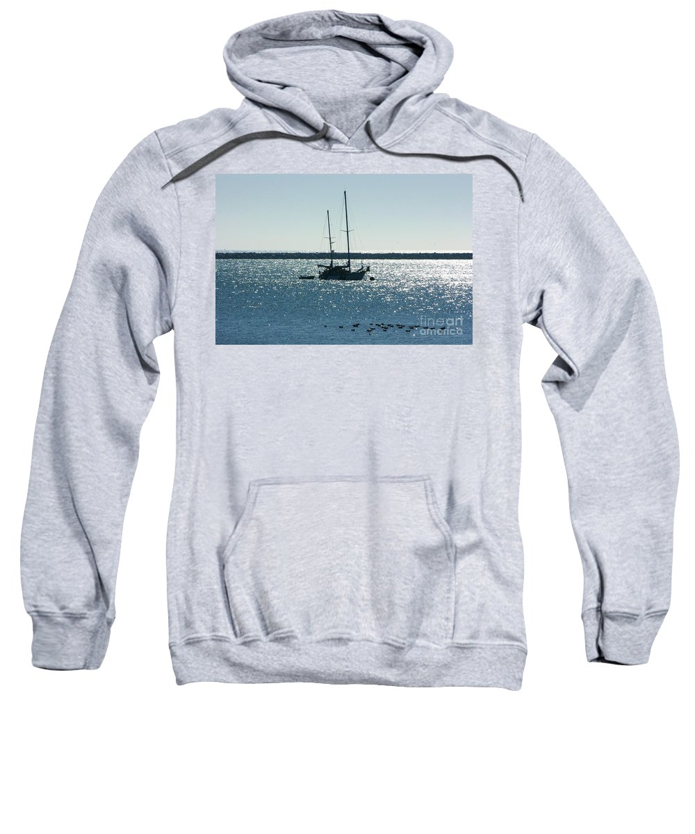 Seascape Sweatshirt featuring the photograph Tranquil Bay by Carol Groenen