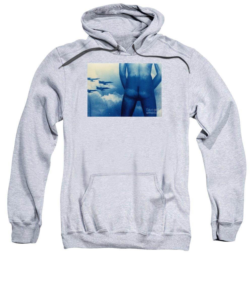 Transmission Sweatshirt featuring the photograph Transmission by Anudai