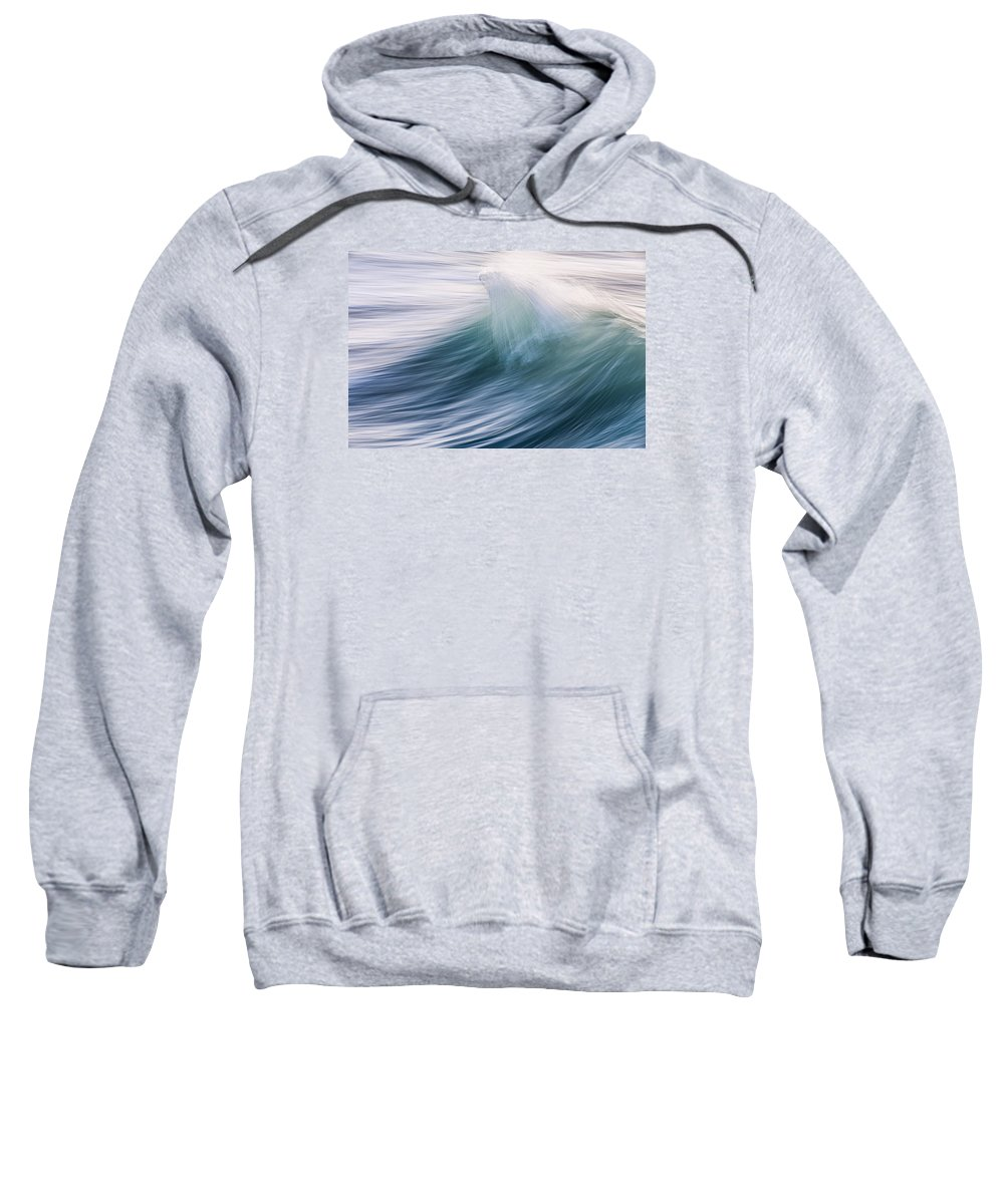 Wave Sweatshirt featuring the photograph Transverse Xvi by Justin Bartels